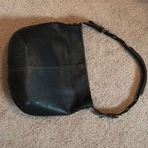 Tignanello Black pebble leather tote bag LiKE NEW